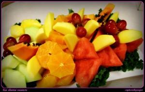 fruit platew