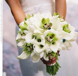 5 nosegay bridal bouquet