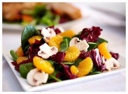 7 spinach salad