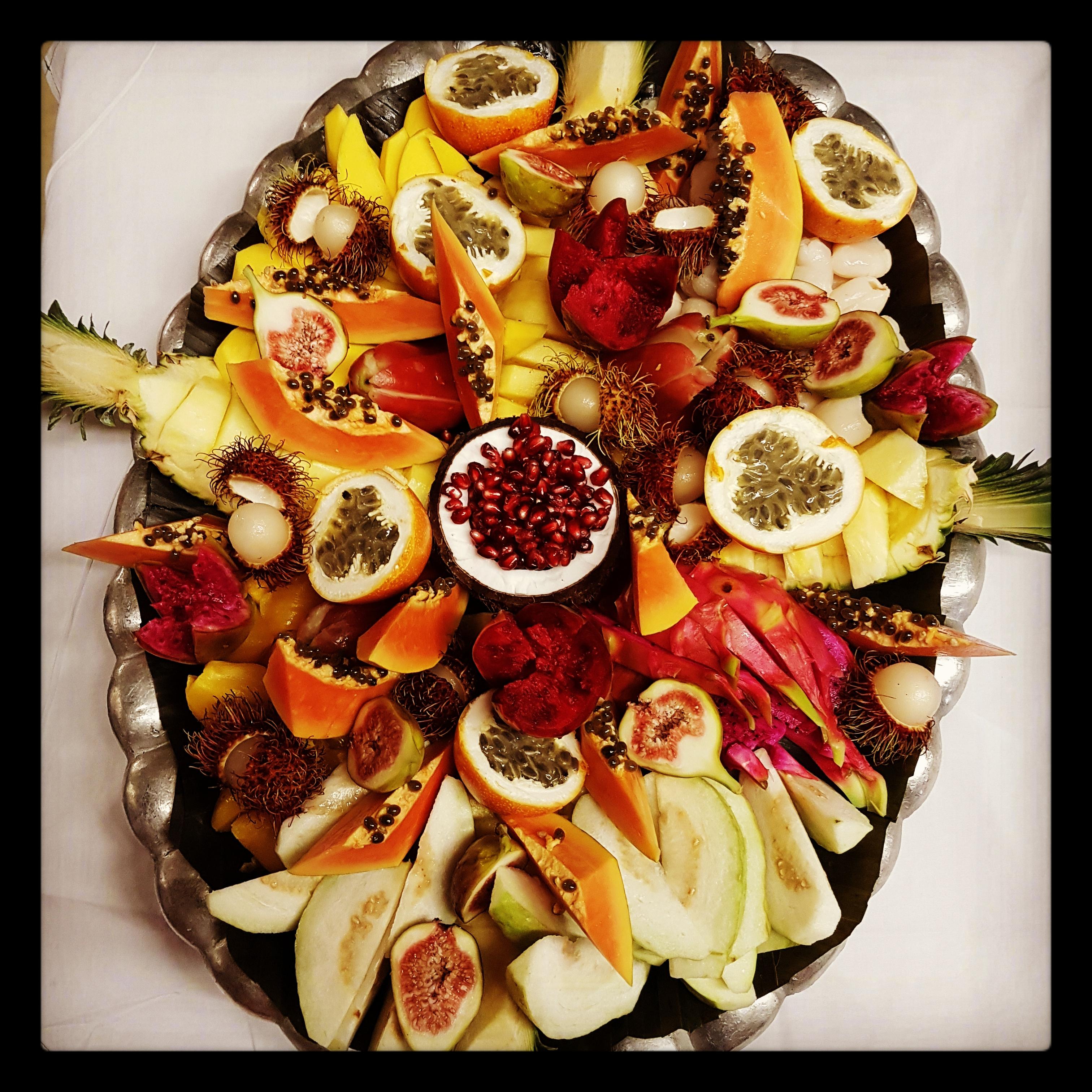 exotic fruit Instagram