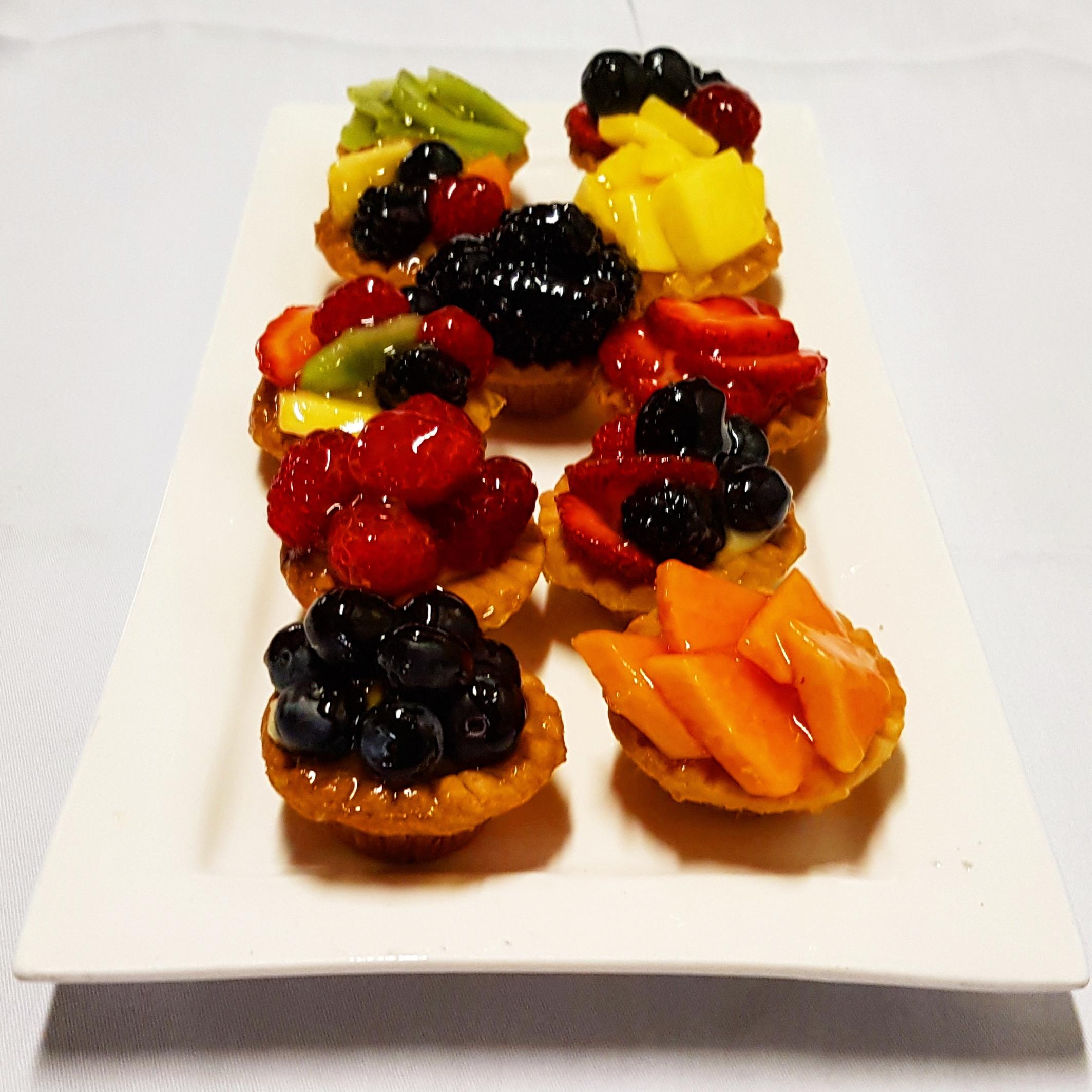 fruit tartlettes